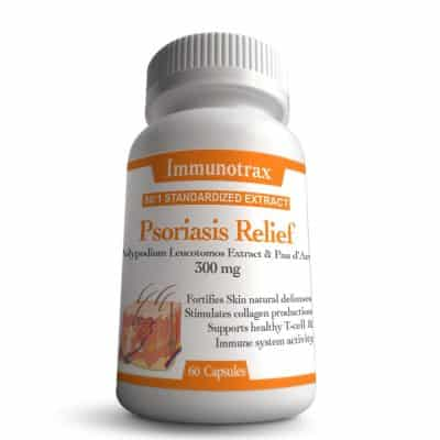 Immunotrax Psoriasis Relief Natural Supplement