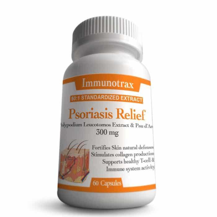 Immunotrax Psoriasis Relief Natural Supplement