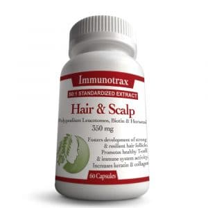 Immunotrax Hair and Scalp Bottle