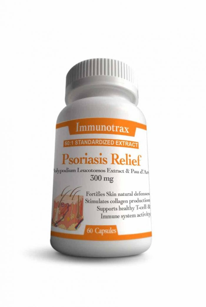 Immunotrax Psoriasis Relief Bottle