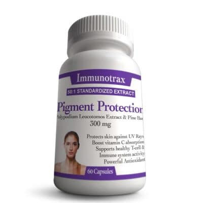 Immunotrax Pigment Protection Bottle