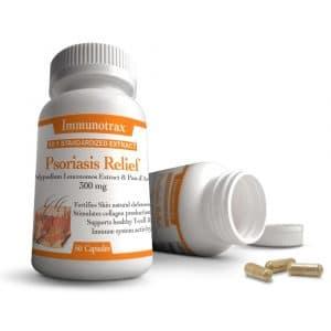 Immunotrax Psoriasis Relief Bottles